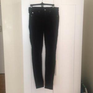 "7 for all mankind ""The Skinny"" Size 28 Light-black"